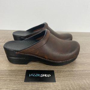 Dansko - Leather Clogs - Women's 6.5/7 - M/C